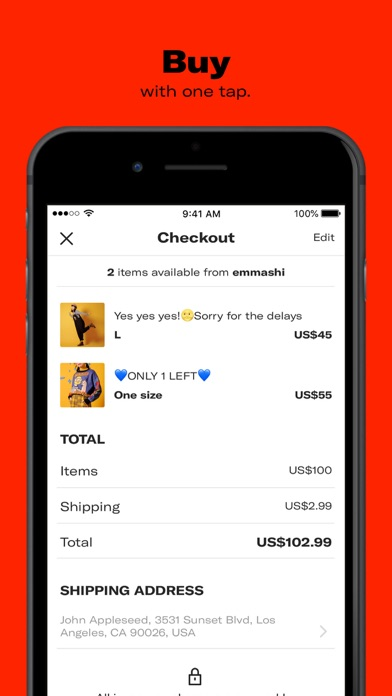 Screenshot for Depop - Shop. Unique. Fashion in Sweden App Store