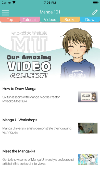 Manga University 101 review screenshots