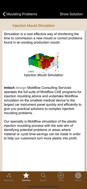 iMoulder Plastic Molding Tools on the App Store