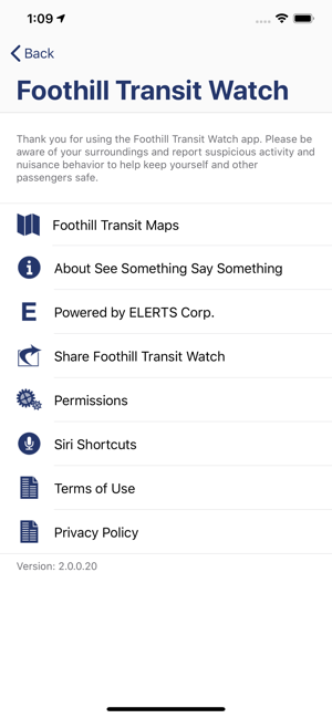 ‎Foothill Transit Watch Screenshot