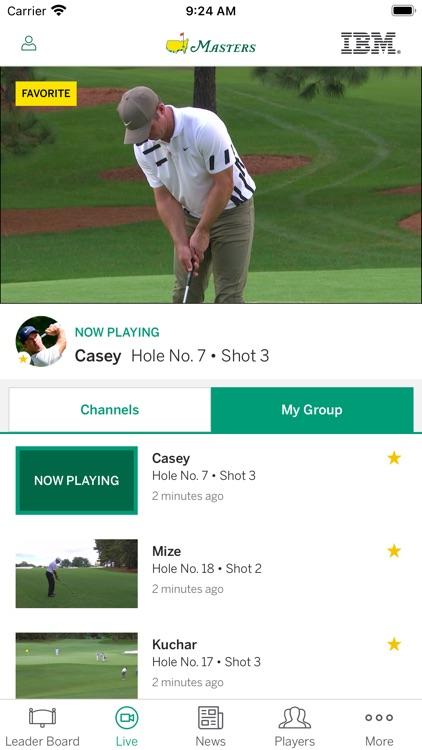 The Masters Tournament screenshot-5