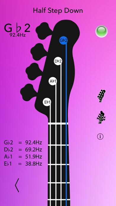 Screenshot for Afinador de Bajo in Chile App Store