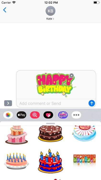Happy Birthday | Stickers Pack screenshot-4