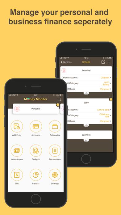 Money Monitor: Expense Trackerのスクリーンショット1