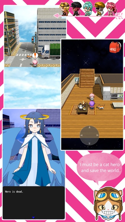 CAT HERO RPG : 3D NEKO ISEKAI screenshot-5