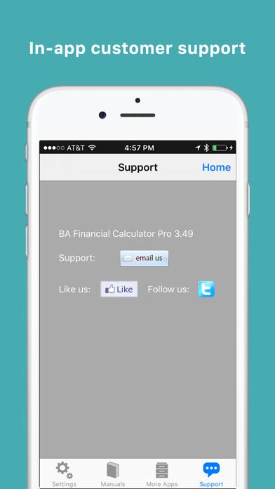 Ba Financial Calculator Pro review screenshots