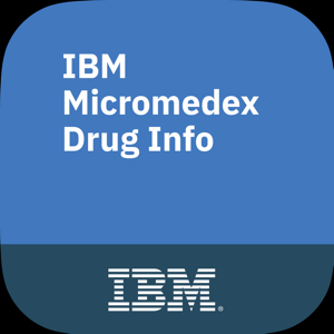 IBM Micromedex Drug Info app