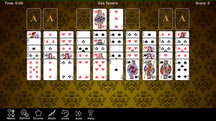 Sea Towers Solitaire Game screenshot-6