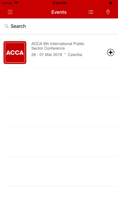 Screenshot for ACCA IPSC 2019 in Ukraine App Store