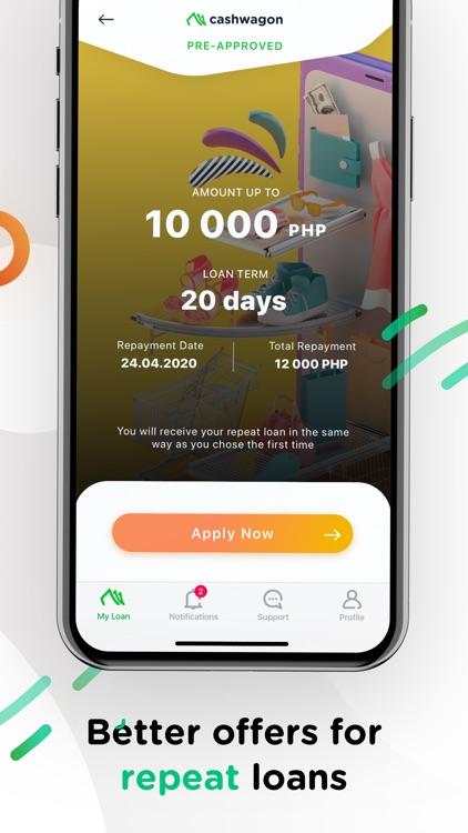 Cashwagon – Fast cash loans screenshot-3