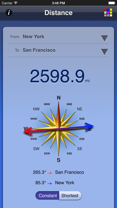 Screenshot for Distance App in Norway App Store
