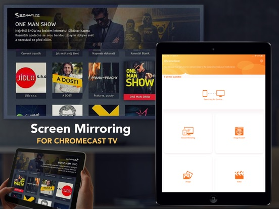 Mirror Streamer for Chromecast IPA Cracked for iOS Free Download