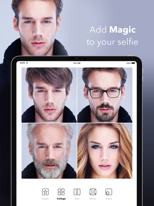 ‎FaceApp – AI Fotobearbeitung Screenshot