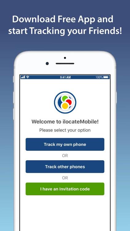 Track a Phone - iLocateMobile screenshot-3