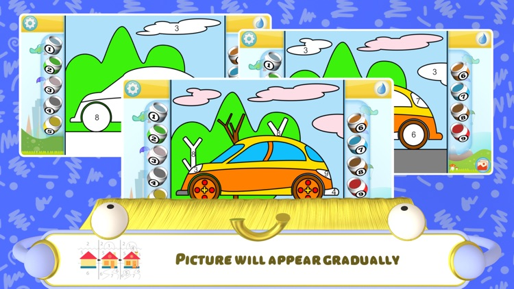 Color by Numbers - Cars + screenshot-4
