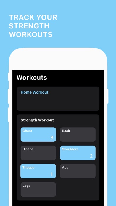Fitness ∙ Screenshots
