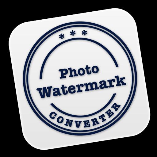 Photo Watermark Converter Mac OS X