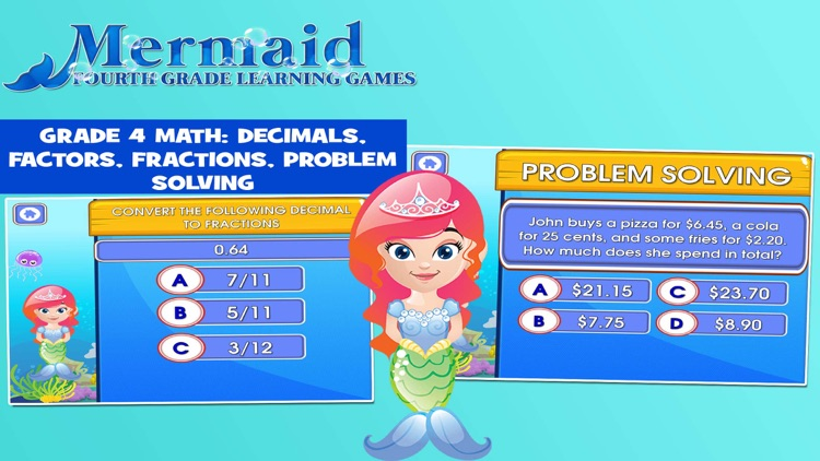 Mermaid Princess: Fourth Grade screenshot-4
