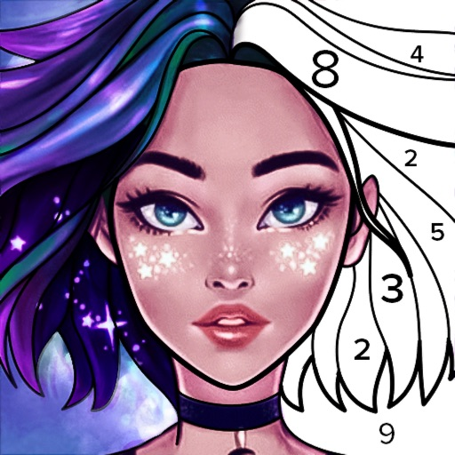 Colorscapes - Color by Number icon