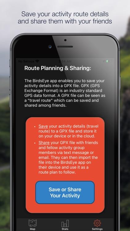 BirdsEye GPS screenshot-3