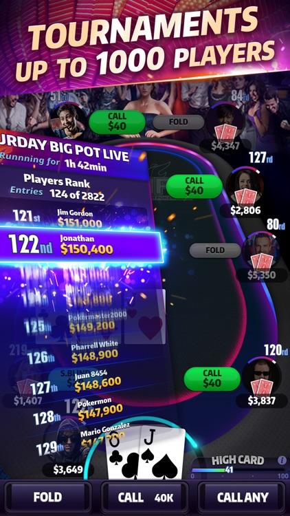 Mega Hit Poker: Texas Holdem screenshot-3