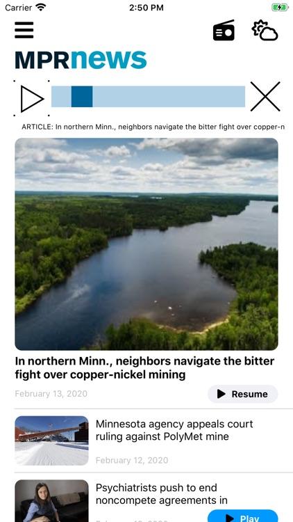 MPR News screenshot-4
