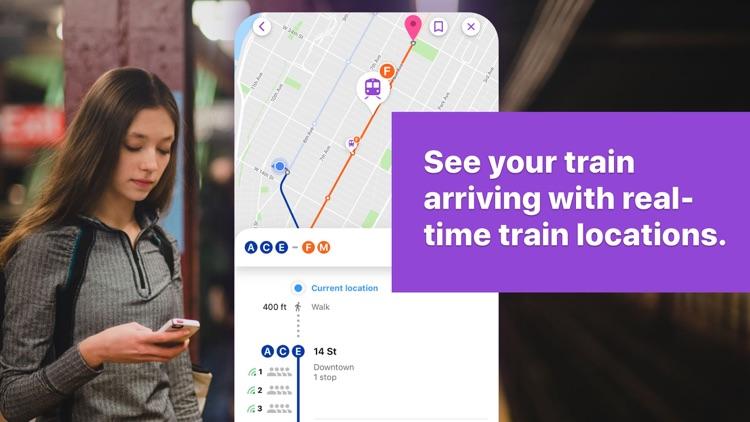 Pigeon Transit: NYC Subway screenshot-4