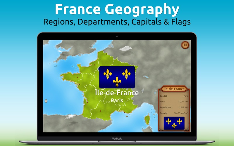 GeoExpert - France Geography for Mac