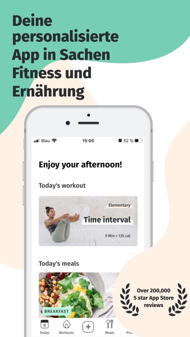 messages.download 8fit Fitness- & Ernährungsplan software