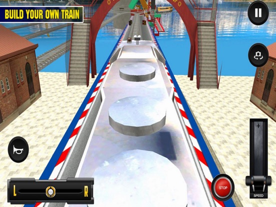 Driving Train On Impossible Tr screenshot 4