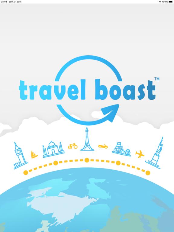 TravelBoast: Cartes de Voyage