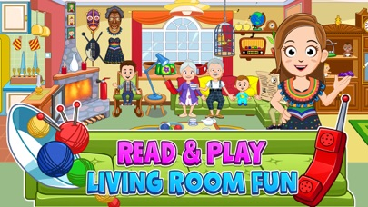 Screenshot for My Town : Grandparents in United States App Store