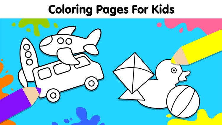 Baby Coloring Games for Kids