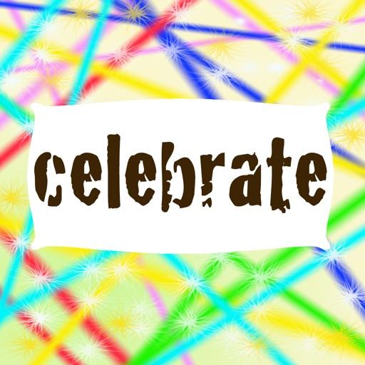 celebrate stickers!