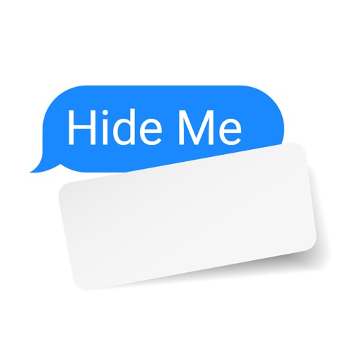 Peel and Paste Hide Out Text
