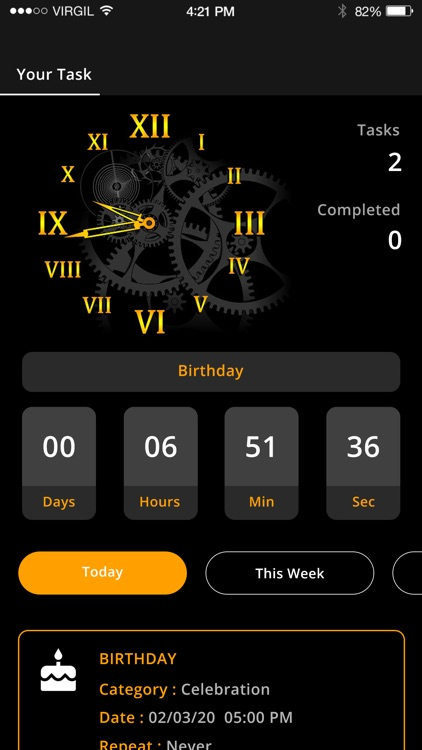 Day Counter : Countdown
