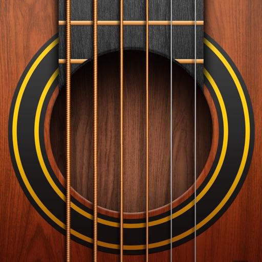 リアル ギター: Guitar、エレキ、ベース、楽器の練習