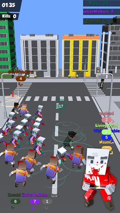 Zombies Crowd In City 2019 screenshot 4