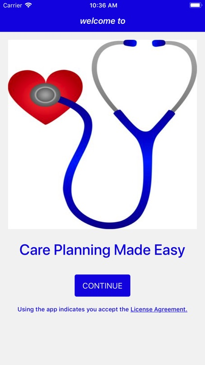 Care Planning Made Easy screenshot-0