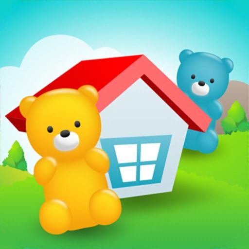 BearsGoHome Line Logic Puzzle app logo