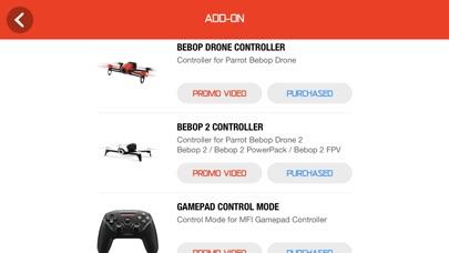 Drone Controller for Bebop screenshot 4