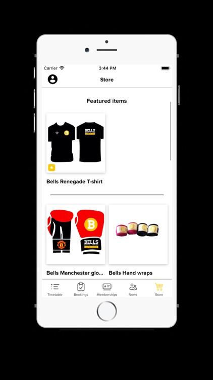 Bells Gym App