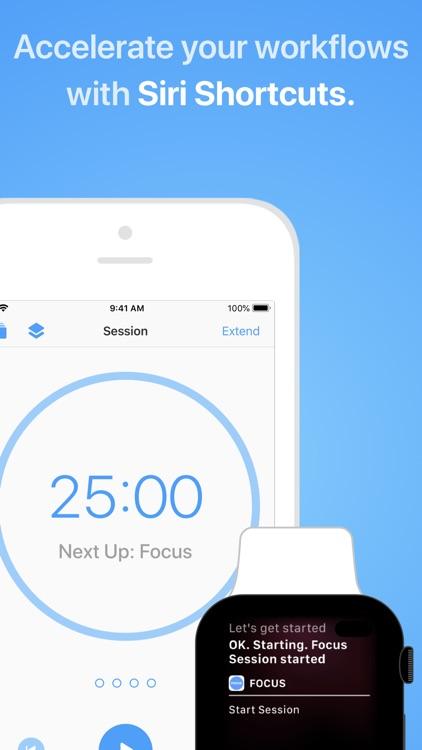 Focus - Time Management screenshot-5