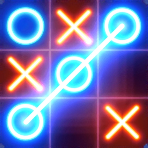 Tic Tac Toe Glow - Puzzle Game