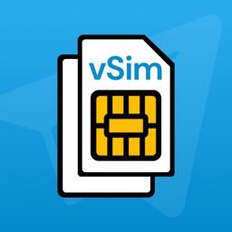 vSim - Second Phone Telegram