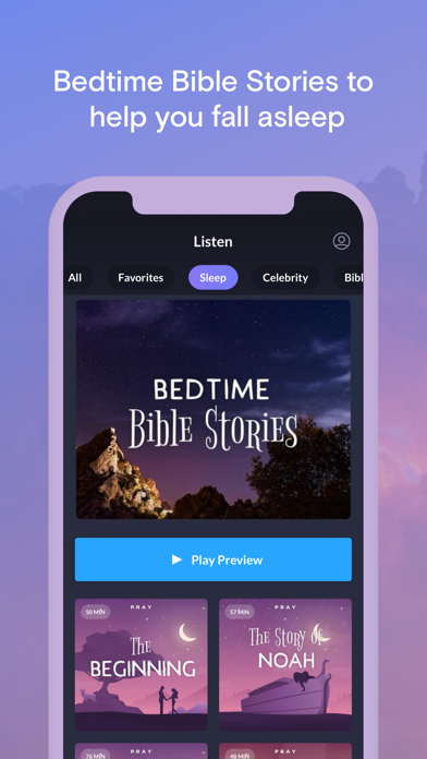 Pray.com Bible & Sleep Stories Screenshot