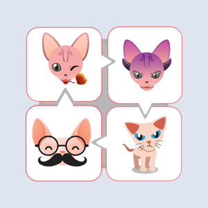 Sphynx Cat Emojis - Stickers app