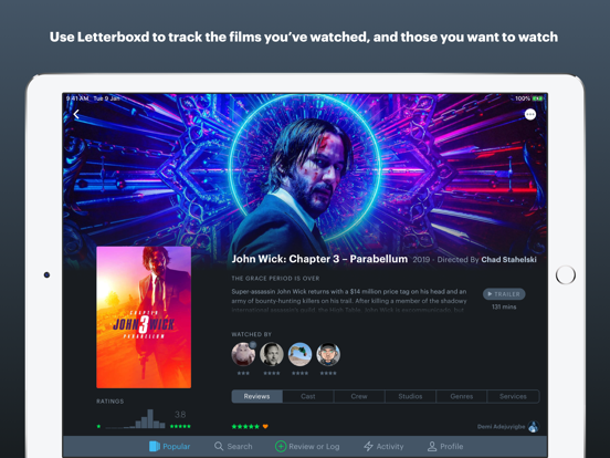 Screenshot #4 pour Letterboxd