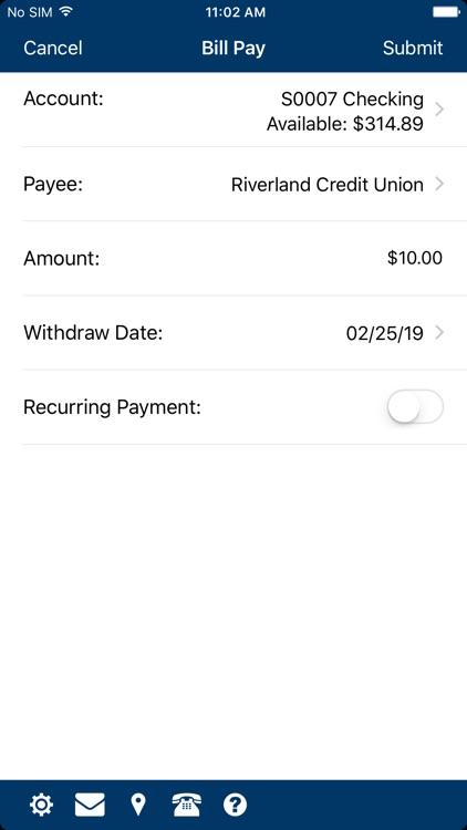 RiverLand FCU Mobile screenshot-3