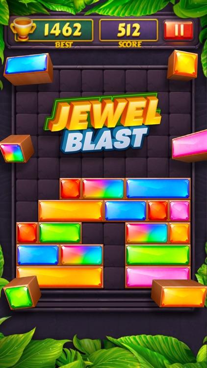 Jewel Blast  Block Drop Puzzle screenshot-3